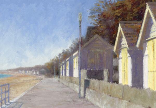 Beach Huts - Towards Sandgate