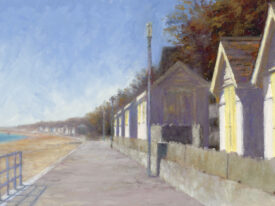 The Beach Huts – Towards Sandgate