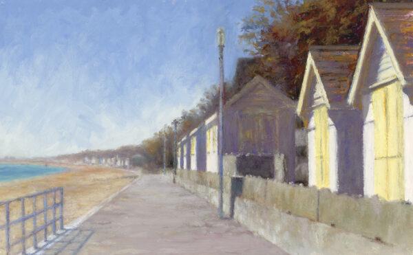 The Beach Huts - Towards Sandgate
