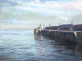 Calm at the Arm – Folkestone Harbour