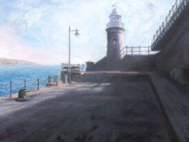 Lighthouse at the Harbour Arm – Folkestone