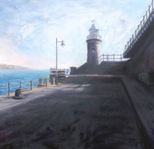 Lighthouse at the Harbour Arm - Folkestone