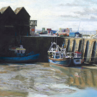 Low Tide – Whitstable Harbour