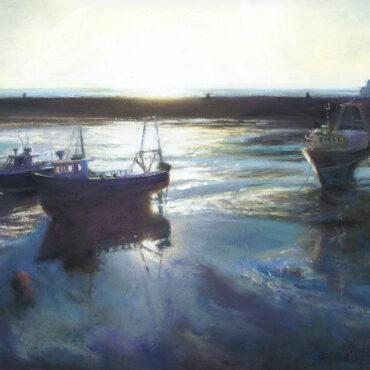 Low Sun in the Harbour – Folkestone