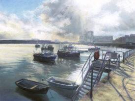 Spring Tide – Folkestone Harbour