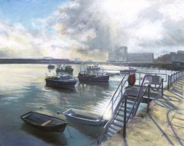 Spring Tide - Folkestone Harbour