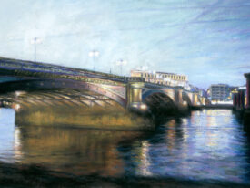 Summer Evening – Black Friars Bridge