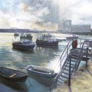 Spring Tide Folkestone Harbour