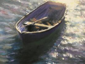 Purple Sunlit Rower – Folkestone Harbour