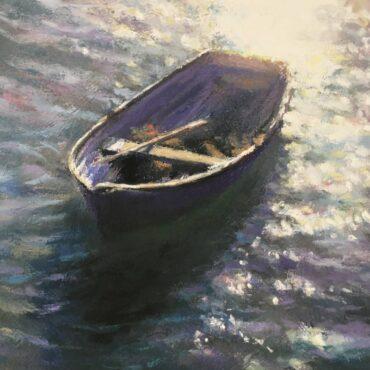 Purple Sunlit Rower – Folkestone Harbour