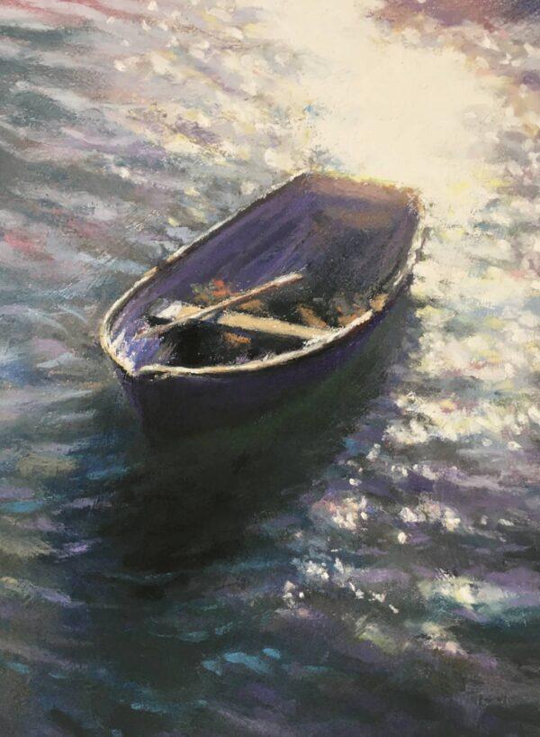 Purple Sunlit Rower - Folkestone Harbour